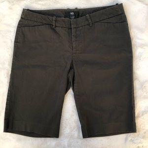 Army Green Bermuda Shorts